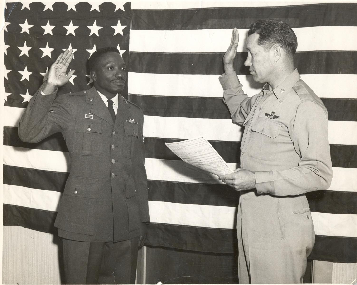 Charlie Enlisting