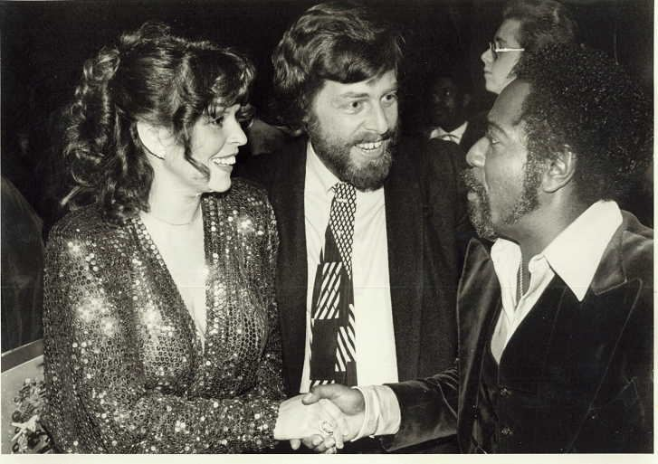 Charlie with Carole Bayer Sager and Husband