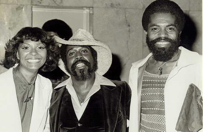 Charlie with Leslie Uggums and Andre Deshield